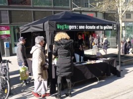 "Stand ""Veg'Angers"" — Angers — 5 mars 2016"