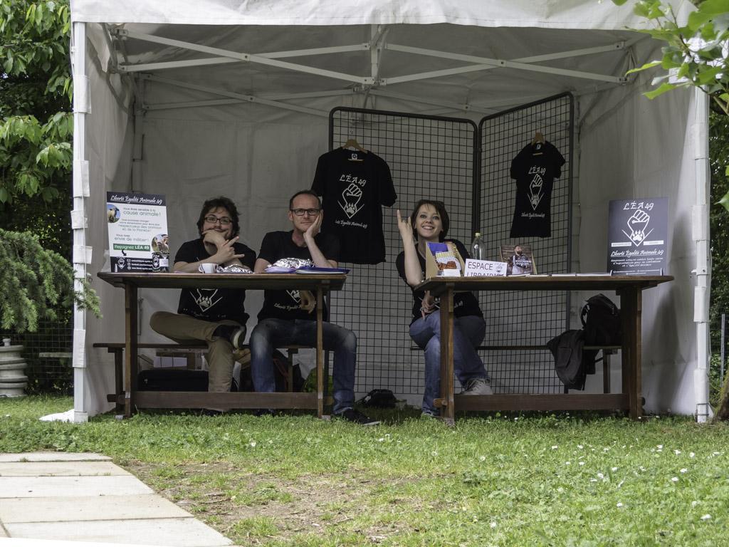"Stand LÉA49 au ""Refuge de l'Arche"" — 21/22 mai 2016"